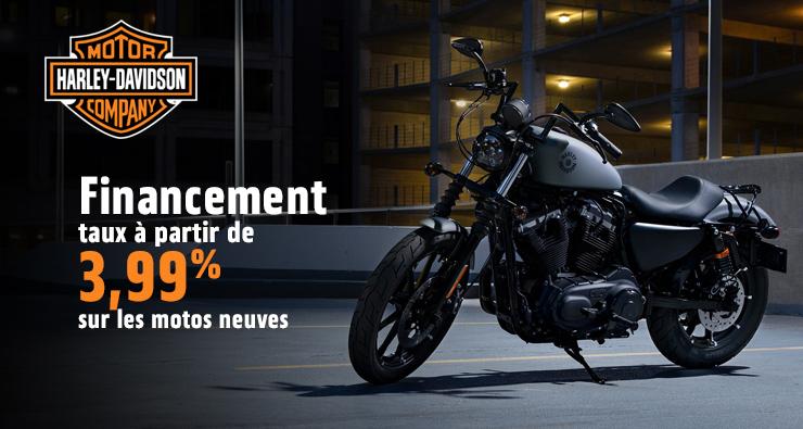 Financement – taux à partir de 3,99% sur les motos neuves