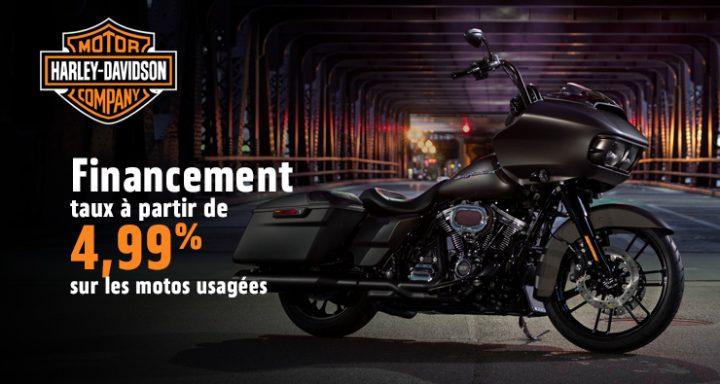 Financement – taux à partir de 4,99% sur les motos usagées